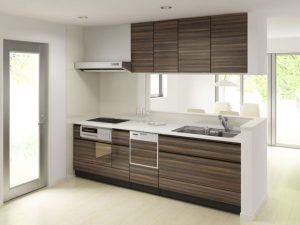 デザインいろいろキッチンの取っ手